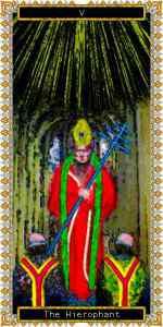 教皇(THE HIEROPHANT)